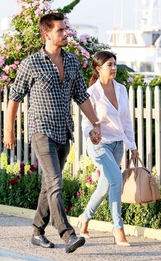 Kourtney Kardashian & Scott Disick from The Big Picture: Today's Hot Pics | E! Online