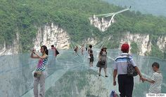 China Is Building The Worlds Longest And Highest Glass-Bottom Bridge