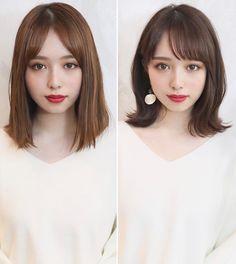 Medium Hair Cuts, Medium Hair Styles, Short Hair Styles, Japanese Hairstyle, Long Layered Hair, Perm, Hair Inspiration, Hair Beauty, Beautiful Women