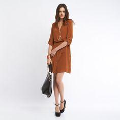 Gabrielle shirt dress  Love this for fall