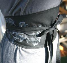 Modern obi belt.
