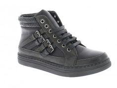 Γυναικείο Μποτάκι 12.90 € ΑΠΟ 25,90 Μαύρο High Tops, High Top Sneakers, Wedges, Shoes, Fashion, Moda, Zapatos, Shoes Outlet, Fashion Styles