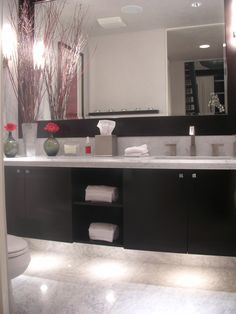 Modern bathroom design by Orange County interior designer Chris