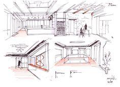 XVIII Emblazoned House Refurbishment,Sketch