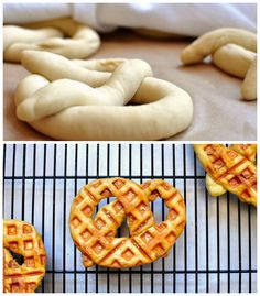 Soft Pretzels | Community Post: 17 Unexpected Foods You Can Cook In A Waffle Iron