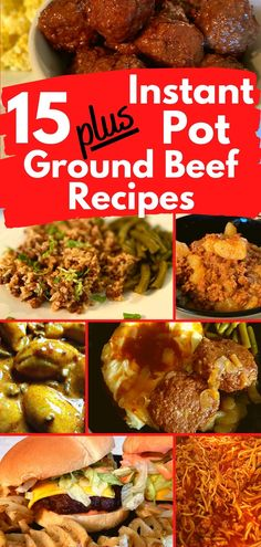 Here are 15 plus Easy Instant Pot Ground Beef Recipes! | Easy Instant Pot Recipes | Easy Instant Pot |  Easy Instant Pot Recipes for Beginners | Easy Instant Pot Dinner | Easy Instant Pot Recipes Healthy | Easy Instant Pot Ground Beef | Easy Instant Pot Ground Beef Recipes | Easy Instant Pot Ground Beef Meals | Quick and Easy Instant Pot Recipes | Easy and Healthy Instant Pot Recipes for Beginners | Easy Instant Pot Recipes for Beginners Ground Beef | #instantpot Dinner Recipes Easy Quick, Easy Healthy Recipes, Quick Easy Meals, Copycat Recipes, Pork Recipes, Seafood Recipes, Beef Recipe Instant Pot, Ground Beef And Potatoes, Beef Meals