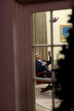 DAY DREAMER: Mehr als zehn Jahre lang begleitete Souza Obama mit der Kamera. Schon als...