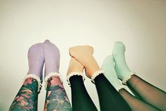 colourful socks!