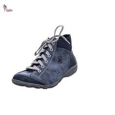 Rieker M3731 bottes & bottines femme, schuhgröße_1:40 EU;Farbe:bleu - Chaussures rieker (*Partner-Link)