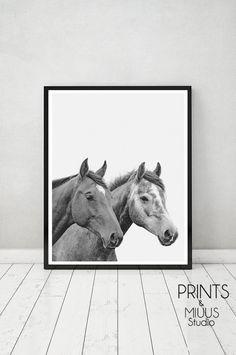 Horse Print Horse Photography Horse Printable by PrintsMiuusStudio
