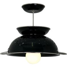 love the black colander lamp wow used to be 179.00 now 99.00 ouch I will make my own thank you