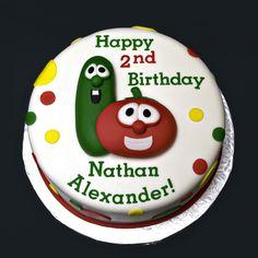 Veggie tale cake!                                                                                                                                                                                 More