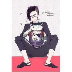Tokyo Kushu ❤ liked on Polyvore featuring tokyo ghoul and anime
