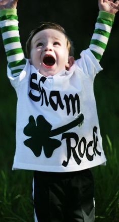 7 St. Patrick's Day Shirt Ideas. @Cassie Newton. Rielly would look so cute in this!