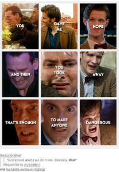 So basically what Moffat does to all the fandoms... ( pinning for that comment because MOFFFFAAAAT!