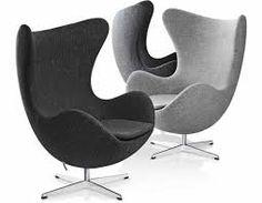 Afbeeldingsresultaat voor egg chair grijs