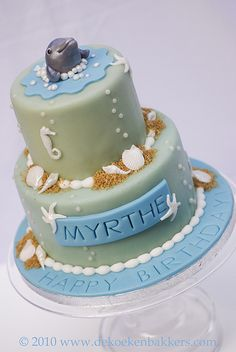 Dolphin Cake.