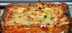 Overheerlijke, anders dan anders Italiaanse ovenschotel