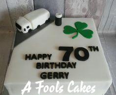 Gerrys 70th Birthday cake! #afoolscakes