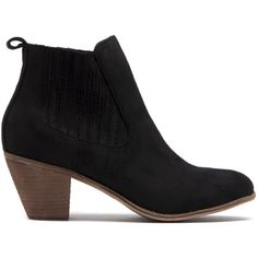 Riptide is your feminine chelsea boot featuring elastic gussets and a heel. Black Ankle Boots, Cropped Pants, Chelsea Boots, Looks Great, Feminine, Booty, Lady, Heels, Winter