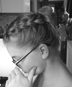 Maid a messy durch braid to my friend