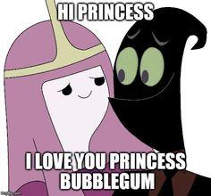Nergal And Princess Bubblegum 2016 Meme Cartoon Network