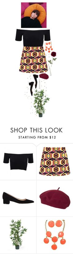 """""""do you believe in magic, in a young girl's heart, how the music can set her free."""" by fleurfemme ❤ liked on Polyvore featuring American Apparel, Boohoo, Manolo Blahnik, Topshop and Nearly Natural"""