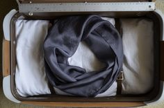 Minimalist Charcoal Scarf a Quindiana custom by quindiana on Etsy