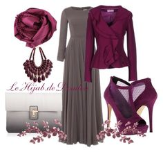 """""""Hijab Outfit"""" by le-hijab-de-doudou ❤ liked on Polyvore featuring Call it SPRING, Bajra, Clips More and Lipsy"""