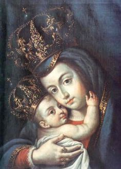 Virgen de Belén - Escuela mexicana. Anónimo.