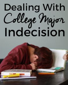 Choosing a major in college can be a major source of anxiety, but it doesn't have to be! These tips will help you overcome dealing with college major indecision.