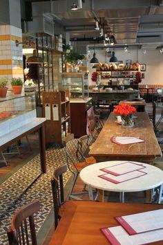 L'OSTERIA italian restaurant by DiPPOLD Innenarchitektur GmbH, Munich hotels and restaurants