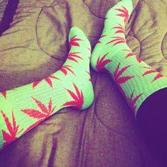 """""""Mermaid Feet"""" HUF socks"""