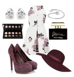 """""""Plum"""" by fashionkatie ❤ liked on Polyvore featuring Cameo, Christian Dior, Georgini, Topshop, Dolce&Gabbana, women's clothing, women's fashion, women, female and woman"""