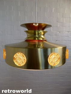 STUNNING Vintage Danish Ceiling Light now available from retroworld. www.retroworldonline.co.uk