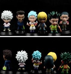 High Quality Hunter Anime Mini Q Style PVC Action Figure Model Toys Without Box from Smart-technology,$7.55 | DHgate.com
