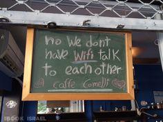 Cafe Comelli - Nahalat Benyamin Street Tel Aviv
