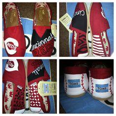 Cincinnati Reds Toms....need!