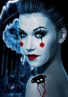 This Halloween makeup is spooktacular!