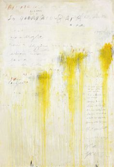 Cy Twombly (1928-2011)   Quattro Stagioni:  Estate, 1995