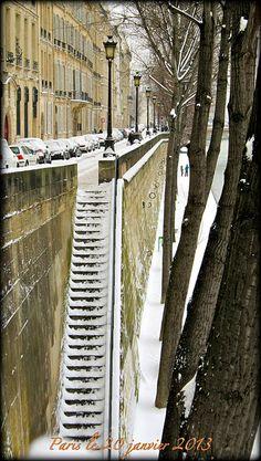 Paris stairs/steps