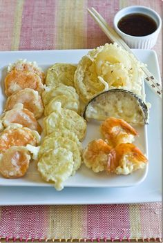 tempura recipe - great for shrimp and veggies! ( for non grams /ml measurement) follow below * 1 c. flour, 1 slightly beat egg, 1/2 tsp sugar, 1 c. ice water. 2 tbsp. oil, 1/2 tsp salt