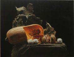 Tardor en diagonal - Rafael De La Rica - 110x91 cm - Oil in Wood