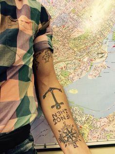 46 Meilleures Images Du Tableau Tatouage Rose Des Vents Compass