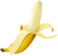 Peeled Banana PNG Clipart Image