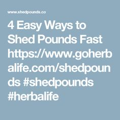 4 Easy Ways to Shed