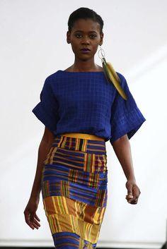Imane Ayissi, Automne/Hiver 2016, Paris, Haute Couture Trouvez l'inspiration sur www.atelierbijouxceramique.fr