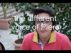 the different voices of Piero Barone ~ just for fun ...