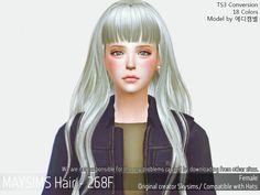 메이 아이템 - May_TS4_Hair268F