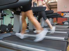 treadmill training, running